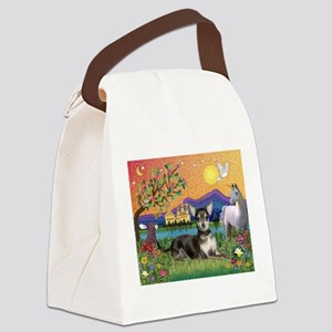 Fantasy Chihuahua (BT) Canvas Lunch Bag