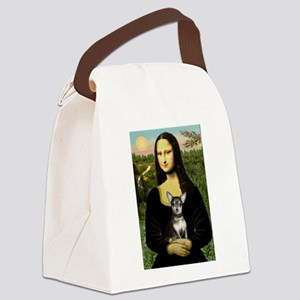 Mona's Chihuahua (BT) Canvas Lunch Bag