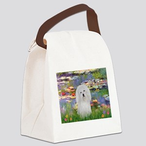 Coton in the Lilies Canvas Lunch Bag