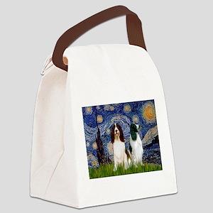 card-Starry-EngSpringerPR Canvas Lunch Bag