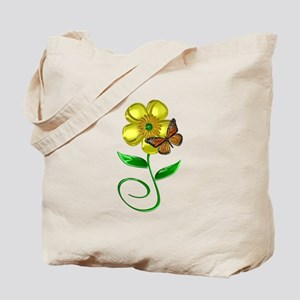 Monarch and Buttercup Tote Bag