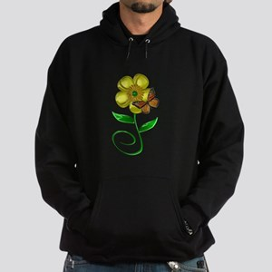 Monarch and Buttercup Hoodie (dark)