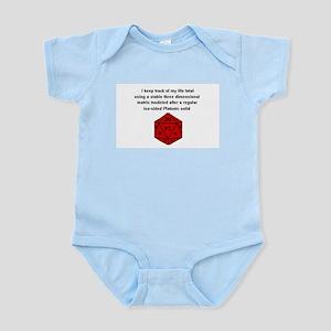 D20 life tracker Infant Bodysuit