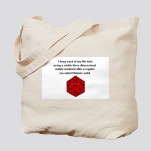 D20 life tracker Tote Bag