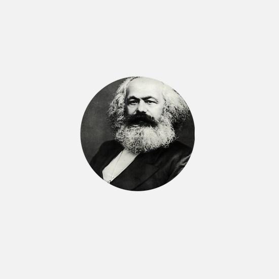 Marx Marxism Socialism Communism Marxi Mini Button