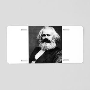 Marx Marxism Socialism Comm Aluminum License Plate