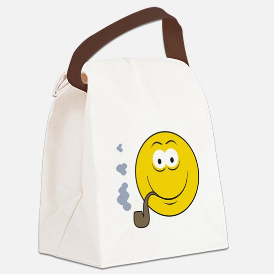 smiley15.png Canvas Lunch Bag