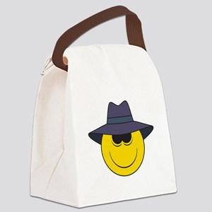 smiley127 Canvas Lunch Bag