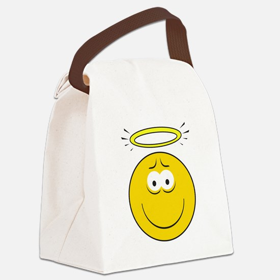 smiley90.png Canvas Lunch Bag