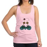 daffodils and butterfly.png Racerback Tank Top