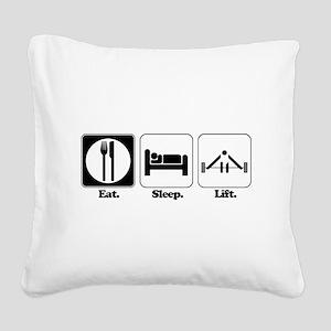lift Square Canvas Pillow
