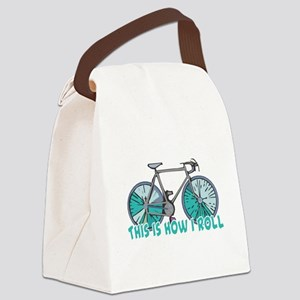 bicycle copy Canvas Lunch Bag