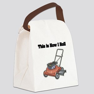 law mower Canvas Lunch Bag