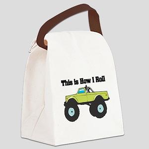 monster truck Canvas Lunch Bag