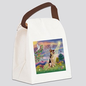 Cloud Angel & G-Shepherd #1 Canvas Lunch Bag