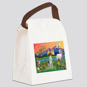 Fantasy Land / German SH Poin Canvas Lunch Bag