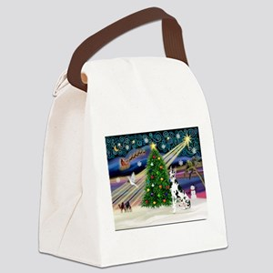 Xmas Magic Great Dane (H) Canvas Lunch Bag