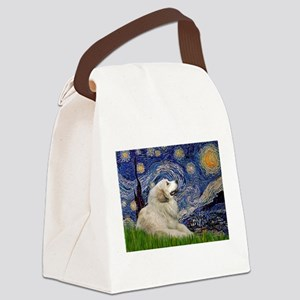 5.5x7.5-Starry-G-Pyr2 Canvas Lunch Bag