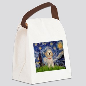 MP-Starry-HavaneseHeidi Canvas Lunch Bag