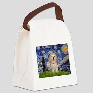 MP-Starry-HavaneseHeidi Canvas Lunch Bag