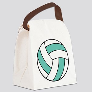volleyball belly Canvas Lunch Bag