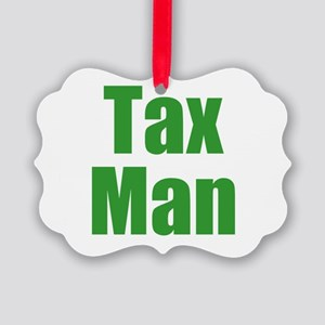 Tax Man Picture Ornament