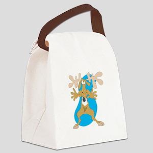 funny moose copy Canvas Lunch Bag