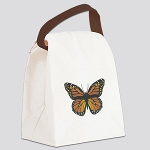 monarch butterfly copy Canvas Lunch Bag