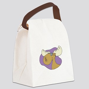 moose in shades copy Canvas Lunch Bag