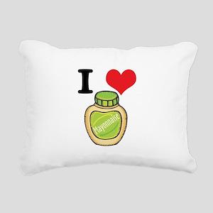 mayonaise Rectangular Canvas Pillow
