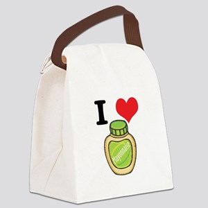 mayonaise Canvas Lunch Bag