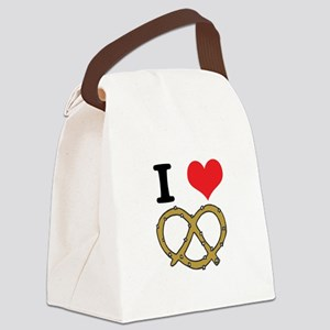 soft pretzels Canvas Lunch Bag