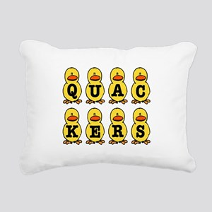 QUACKERS DUCKS Rectangular Canvas Pillow