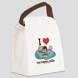 hearthappypills Canvas Lunch Bag