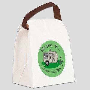 trailer park trash Canvas Lunch Bag