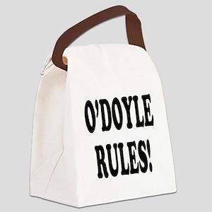 odoyle rules Canvas Lunch Bag