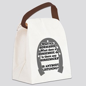 what is a horseshoe Canvas Lunch Bag