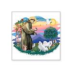 St.Francis #2/ Am Eskimo (2) Square Sticker 3&quot
