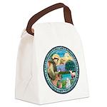 St Francis/Am Eskimo #3 Canvas Lunch Bag