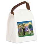 SAINT FRANCIS Canvas Lunch Bag