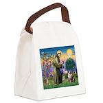 St Francis & Aussie Canvas Lunch Bag