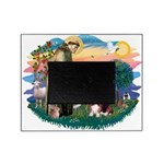St.Francis #2/ Basset Hound Picture Frame