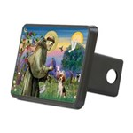 St Francis/Beagle Rectangular Hitch Cover