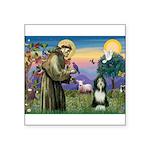 St. Francis & Beardie Square Sticker 3