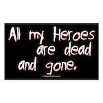 heroes.rect.sticker Sticker (Rectangle 50 pk)