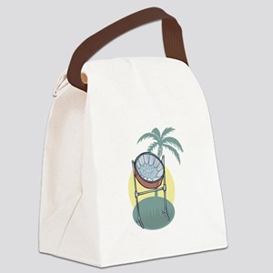 steel drum copy Canvas Lunch Bag