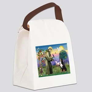 St Francis/Bernese Canvas Lunch Bag