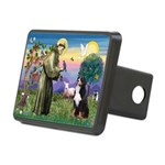 St Francis/Bernese Rectangular Hitch Cover