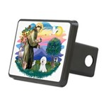 St Francis #2/ Bichon #1 Rectangular Hitch Cover
