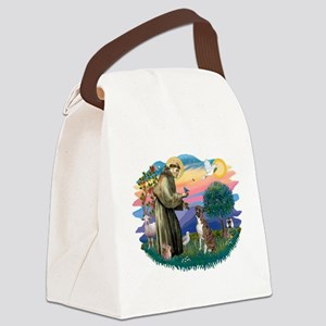 St.Francis #2/ Boxer (nat ea Canvas Lunch Bag